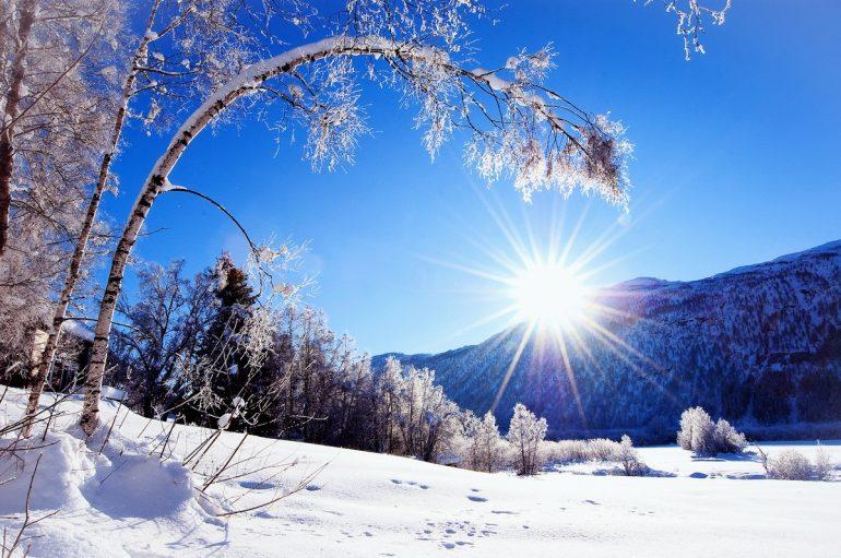 Мороз и солнце! День чудесный?