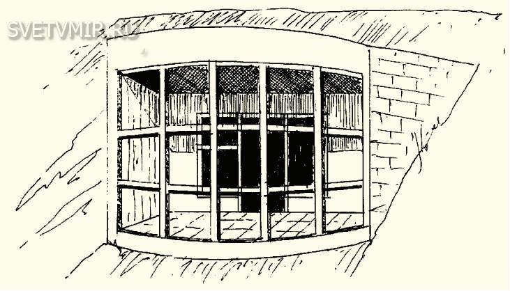 Традиционное окно с лоджией с остеклением