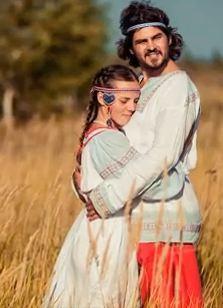 Ведрусский обряд венчания. Видео