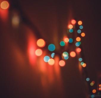 огоньки, новый год