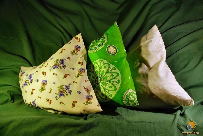 Делаем травяную подушку