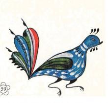 8R4fXsvoLJo - СветВМир.ру - Интересный познавательный журнал. Развитие познания - Уфтюжская роспись, 78 иллюстраций