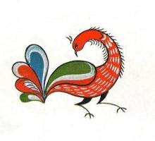 OdF6xGca gw - СветВМир.ру - Интересный познавательный журнал. Развитие познания - Уфтюжская роспись, 78 иллюстраций