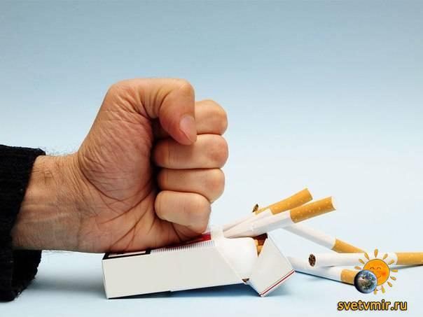Народные рецепты и средства от курения