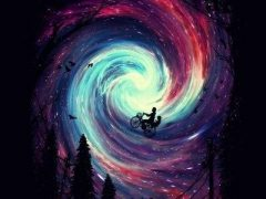 На велосипеде по галактике