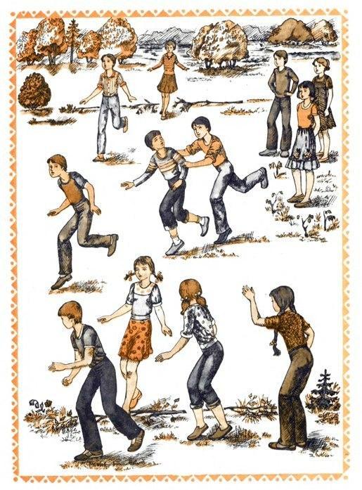 Очень подвижная народная игра Гуси-лебеди. Правила, описание игры