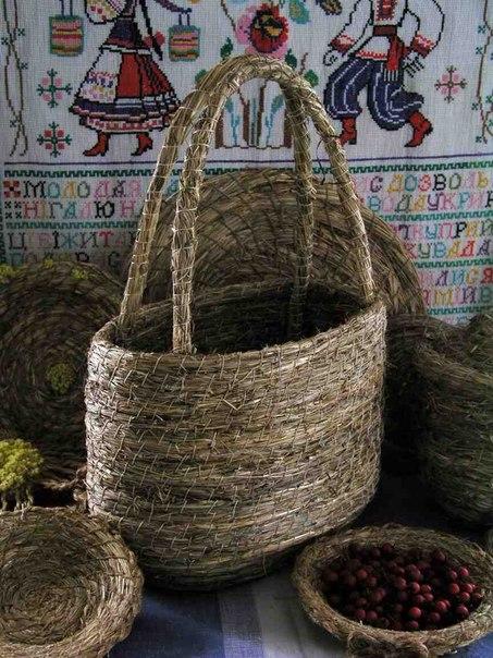 Травоплетение (плетение из сена). Обучающее видео