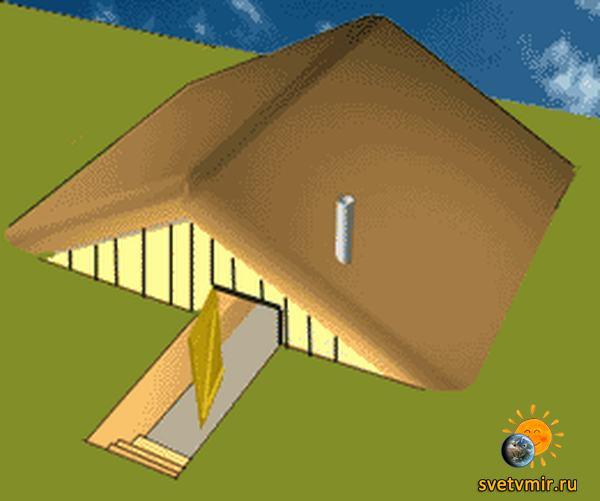 Инструкция по строительству землянки. Как построить землянку?