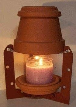 NH2 7 XeLQA - СветВМир.ру | Познавательный журнал! - Как обогреть небольшую комнату, палатку, теплицу одной свечой?