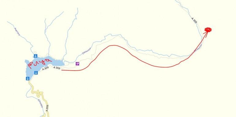 Дорога к курорту Ауадхара