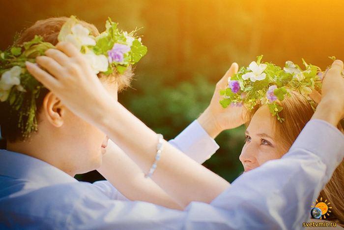 Любовь заставляет нас видеть красоту