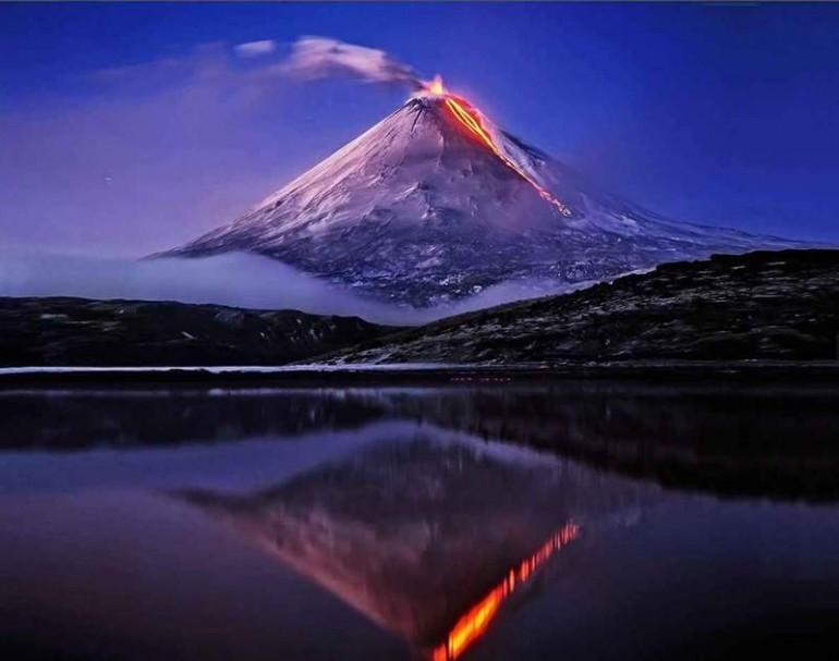 Вулканы загрязняют планету?