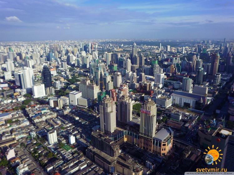 Bangkok From Above - СветВМир.ру - Интересный познавательный журнал. Развитие познания - Что происходит в мире. А ты знаешь?