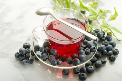 Bluberry-Tea
