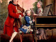 Музыка Моцарта для детей, скачать (9 композиций в архиве)