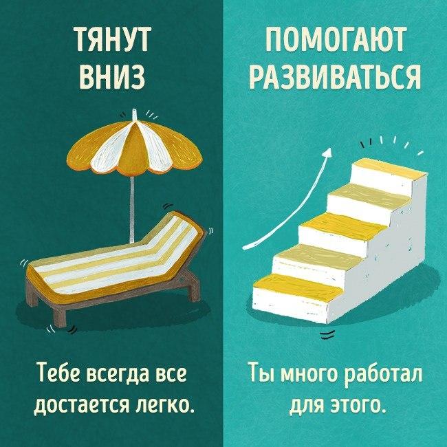 - СветВМир.ру | Познавательный журнал! - Есть только два типа людей: одни тянут вниз, с другими можно свернуть горы
