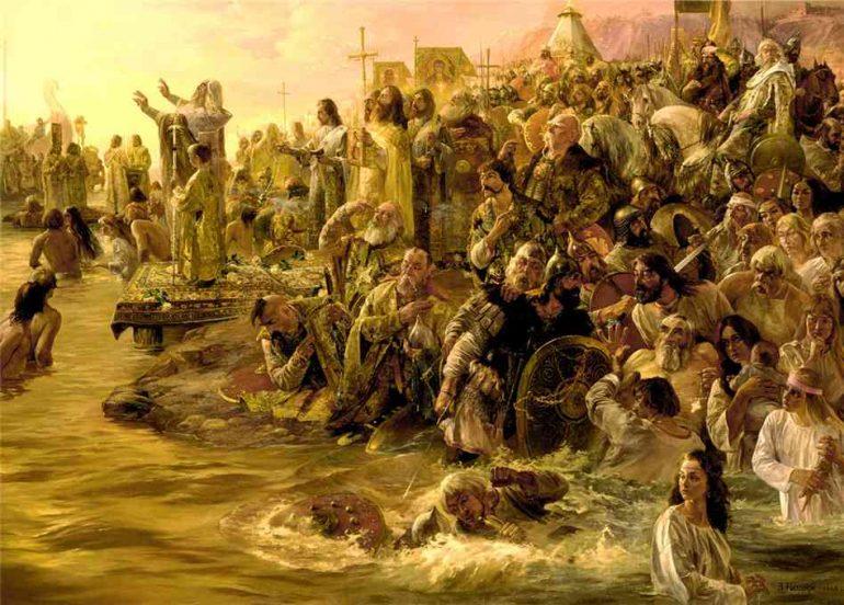 Как крестили Русь. Последствия крещения Руси