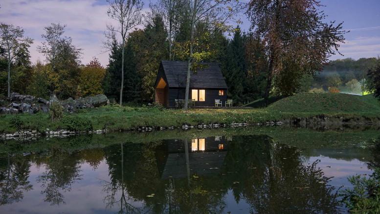 Woodland Cabin 4 - СветВМир.ру | Познавательный журнал! - Где жить страшнее - в городе или в лесу?