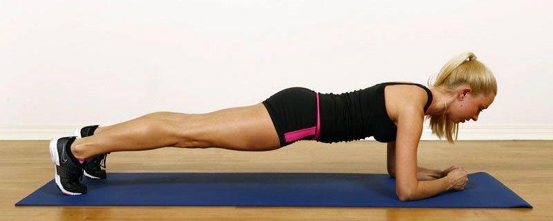 uprazhnenie planka 10 - СветВМир.ру | Познавательный журнал! - Самая короткая и простая тренировка для хорошей физической формы