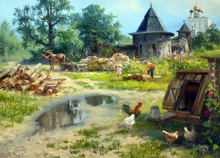 Домик в деревне (стих)